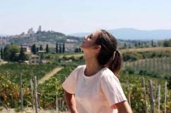 Chilling in San Gimignano
