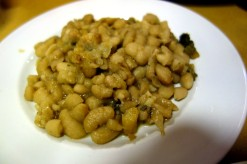 Tuscan white beans at Da Leo in Lucca