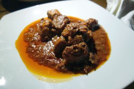 Boar Stew at Le Rime in Montepulciano