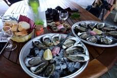 Oysters at La Cabane de l'Aiguillon in Arcachon