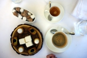 Cafe gourmand at Logis de la Cadene