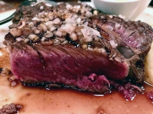 Steak bordelais