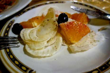 Sicilian fennel and orange salad