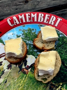Camembert Tasting in Camembert, Normandy