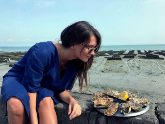 Oysters in Cancale